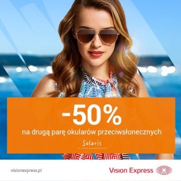 Promocja -50% w Vision Express